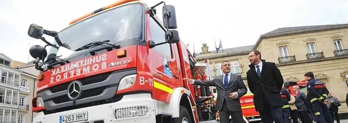 Concurso-oposición a bombero/a para el Ayuntamiento de Vitoria-Gasteiz